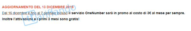 vodafone one number