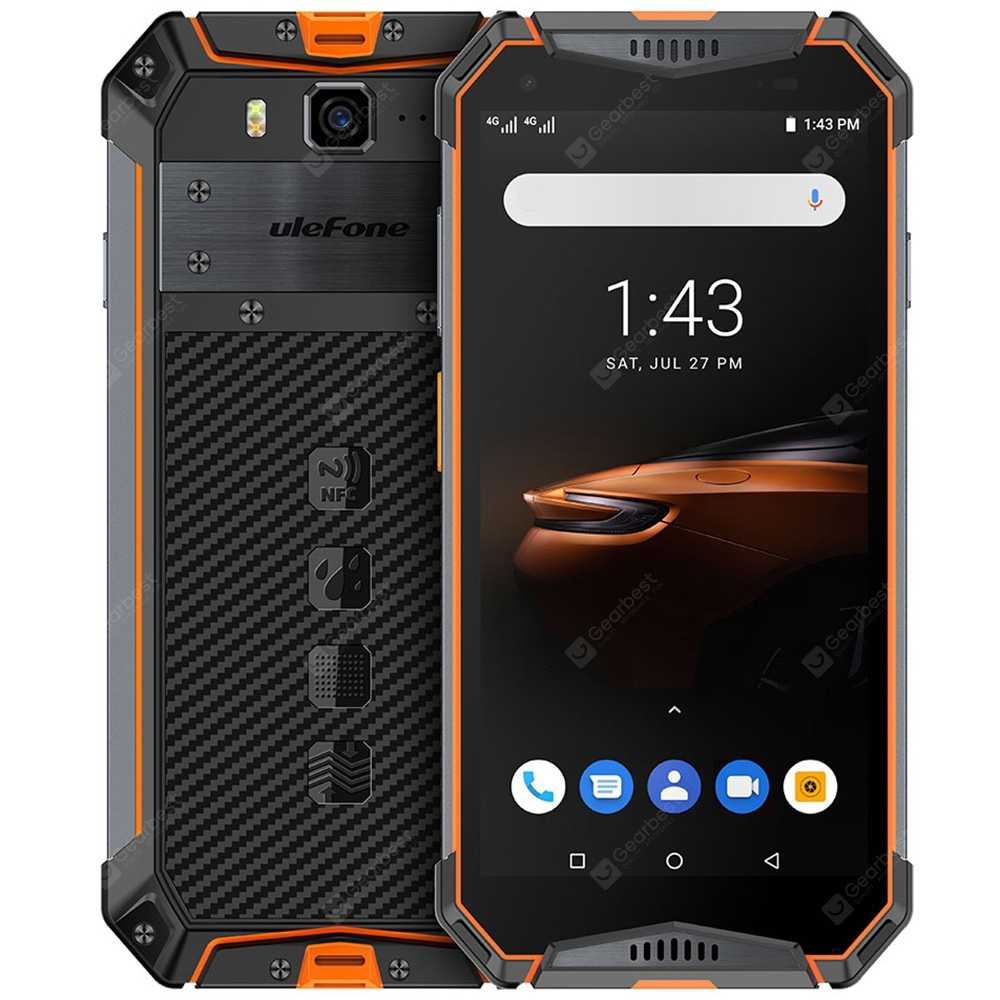 ulefone armor 3w 4g phablet 5 7 inch android 9 0 helio p70 octa core 2 1ghz 4gb ram 64gb rom 21 0mp rear camera 10300mah battery face id fingerprint recognition ip68 ip69k gearbest offerte a soli 203