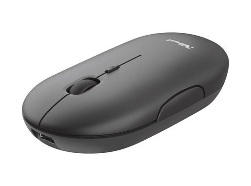 Trust Puck mouse Ambidestro Wireless a RF + Bluetooth…