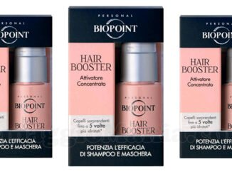 biopoint hair booster omaggio con marie claire pocket
